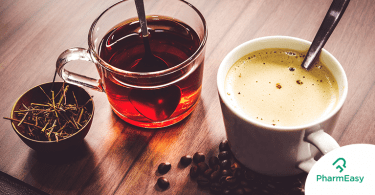 Benefits of drinking coffee and tea