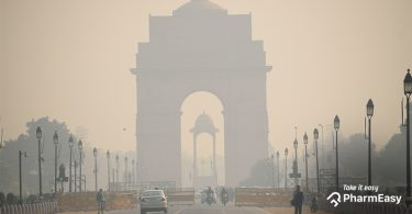 Delhi Chokes From Severe Air Pollution Levels! - PharmEasy
