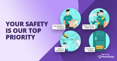 Safety Measures We're Taking To Ensure Safe Delivery! - PharmEasy