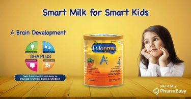 Enfagrow+: Nutrition For Children's Robust And Speedy Brain Development! - PharmEasy