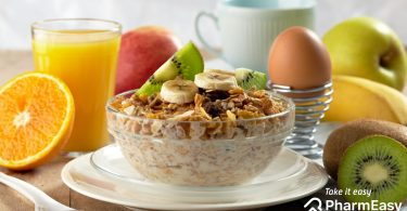 Different healthy breakfast options