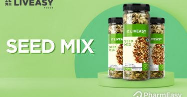 LivEasy Foods Seed Mix: Munch Your Way To Good Health! - PharmEasy