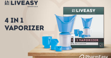 LivEasy Essentials 4-in-1 Steam Vaporizer: For Speedy Relief From Common Cold - PharmEasy